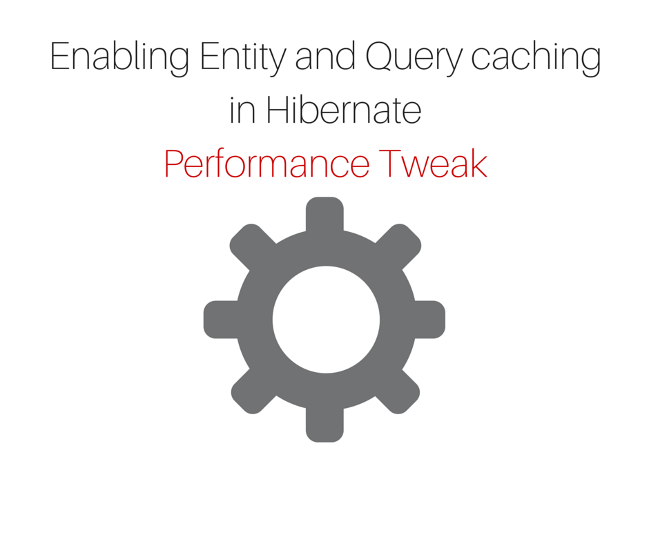 Enabling Entity and Query cache in Hibernate - jCombat