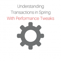 Transaction management in Spring