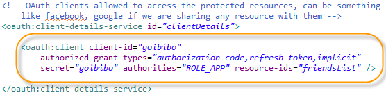 OAuth - Clients