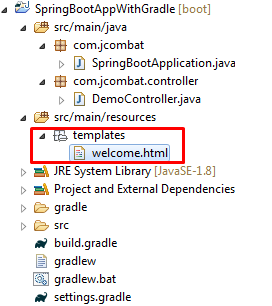 Add Template file to the project